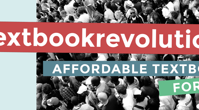 It's time for a #textbookrevolution